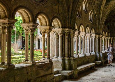 Cloître de l'Abbaye de Fontfroide