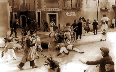 La bataille lors de la fête des Pailhasses de Cournonterral